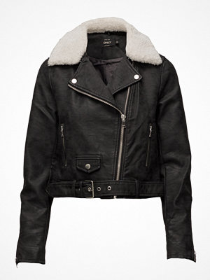 Only Onldanielle Faux Leather Biker Otw