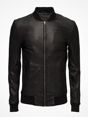 Skinnjackor - MDK / Munderingskompagniet Charlie Leather Jacket (Black)