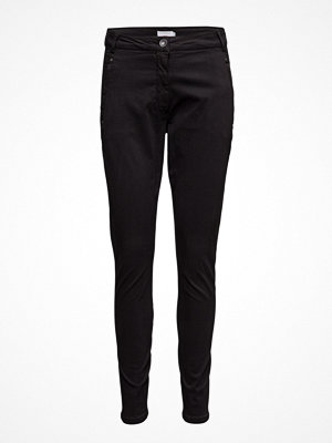 Coster Copenhagen svarta byxor Garment Dyed Pants