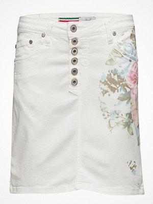Kjolar - Please Jeans Skirt Long Floral