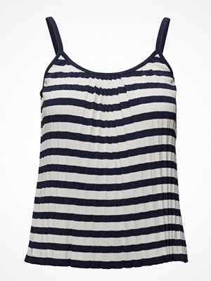 Mango Striped Ribbed Top