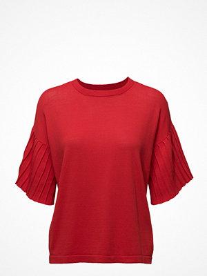 Mango Pleated Sleeves T-Shirt