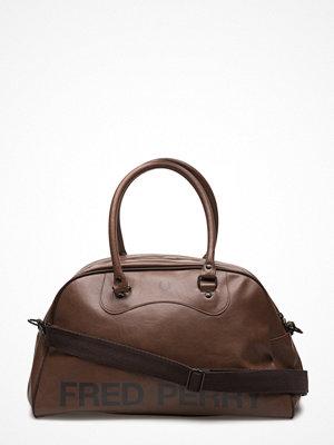 Väskor & bags - Fred Perry Classic Tan Grip Bag