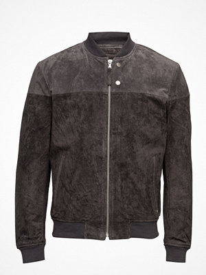 Skinnjackor - Edc by Esprit Jackets Outdoor Leather