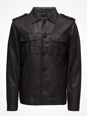 Skinnjackor - MDK / Munderingskompagniet Felix Leather Jacket (Black)