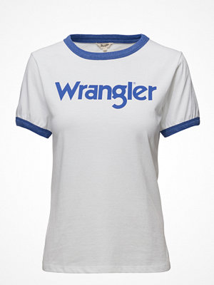Wrangler Retro Kabel Tee White