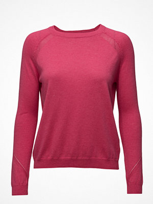 Mango Decorative Seams Cotton Sweater