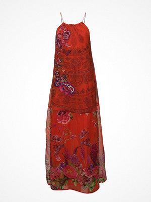 Desigual Vest Rojo Clavel