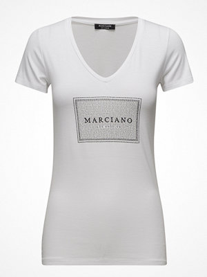 Marciano by GUESS Logo T-Shirt V Neck