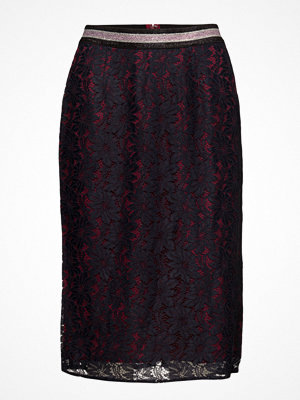 Scotch & Soda Lace Pencil Skirt With Contrast Lining