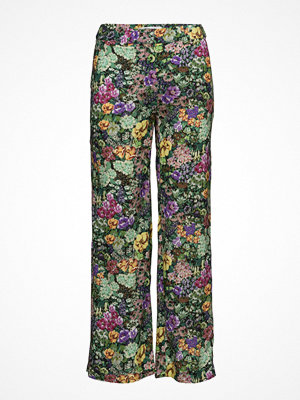 Mango mönstrade byxor Floral Print Trousers