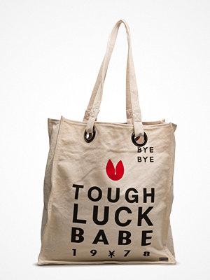 Scotch & Soda shopper med tryck Canvas Bag With Special Artworks