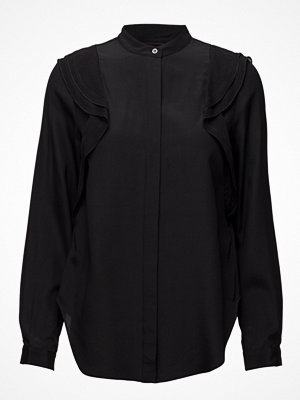3.1 Phillip Lim Ls Blouse With Ruffle Detail