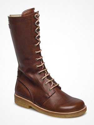 Angulus Long Boot With Laces.
