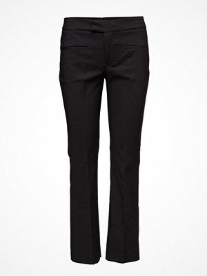 Mango svarta byxor Straight Suit Trousers
