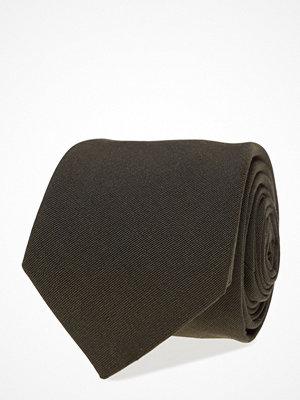 Slipsar - ATLAS DESIGN Tie Solid Cotton Blend