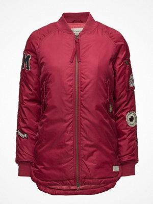 Odd Molly rosa bomberjacka med tryck Love Bomber Jacket