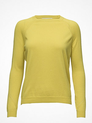Mango Decorative Seams Cotton Sweater