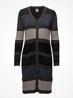 Saint Tropez Striped Knit Cardigan