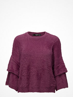 Mango Flared Sleeves Texture Sweater