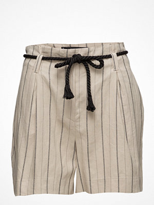 Shorts & kortbyxor - Mango Striped Linen Shorts
