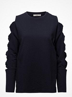 Mango Ribbons Cold-Shoulder Sweatshirt