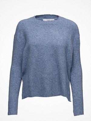 Mango Ribbed Panels Sweater