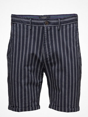 Shorts & kortbyxor - Scotch & Soda Chino Short In Yarn Dyed With Pressed Pleat Detail