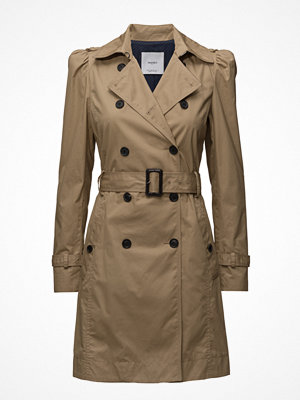 Trenchcoats - Mango Puffed-Shoulder Trench