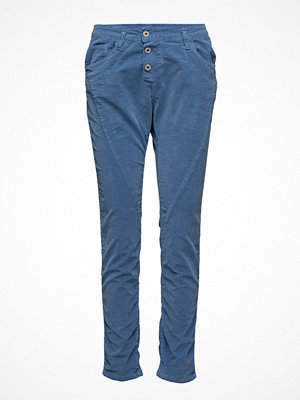 Please Jeans omönstrade byxor Classic Vel. Dust Blue