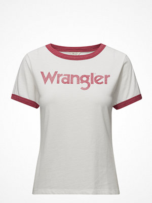 Wrangler Retro Kabel Tee Jester Red