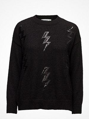 Mango Thunder Embroidered Sweater