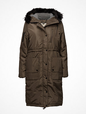 Parkasjackor - Cream Addison Long Parka