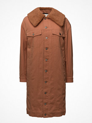 3.1 Phillip Lim Denim Coat W Sherpa Lng