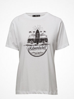 T-shirts - Mango Printed Cotton T-Shirt