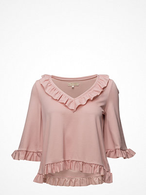 by Ti Mo V-Neck Top - Ruffles