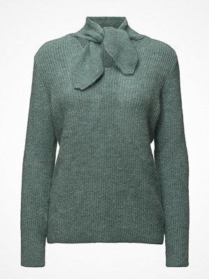 Mango Bow Collar Sweater