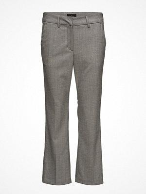 Fiveunits grå byxor Clara 495 Crop, Bit Wool, Pants