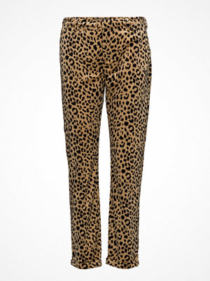 Scotch & Soda mönstrade byxor Velvet Chino With Allover Embroidery Or Print