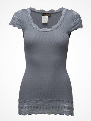 Rosemunde Silk T-Shirt Medium W/Wide Lace