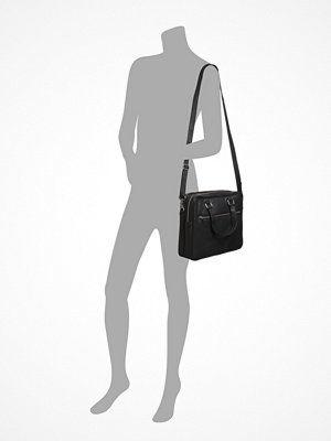 Depeche svart datorväska Medium Bag