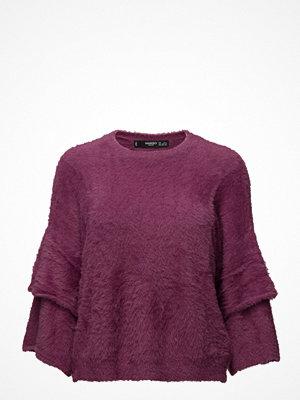 Mango Flared Sleeves Texture Sweater