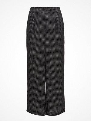 Just Female svarta mönstrade byxor Hiro Pants