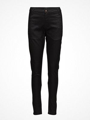 Fiveunits svarta byxor Jolie 274 Black Coated, Jeans