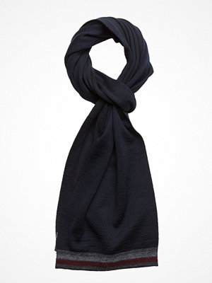Halsdukar & scarves - Tommy Hilfiger Knitted Corporate Stripe Edge Scarf