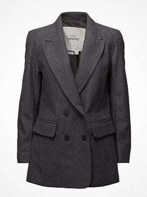 Mango Flecked Wool-Blend Blazer