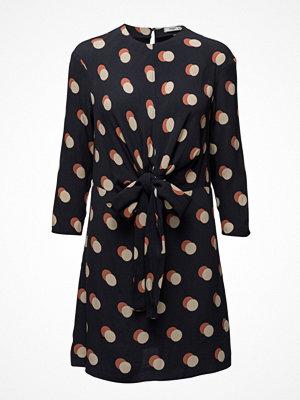 Mango Knotted Polka-Dot Dress