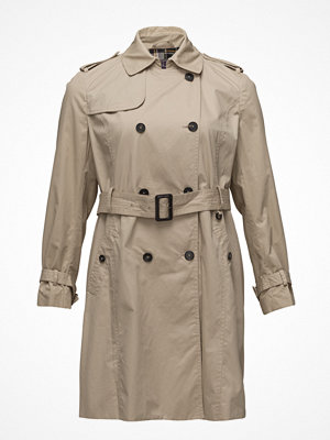 Trenchcoats - Violeta by Mango Classic Cotton Trench Coat