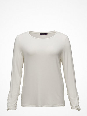 Violeta by Mango Ruffled Detail T-Shirt