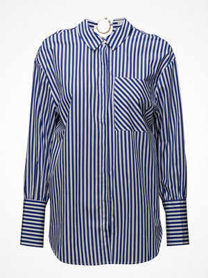 Mango Striped Piercing Shirt